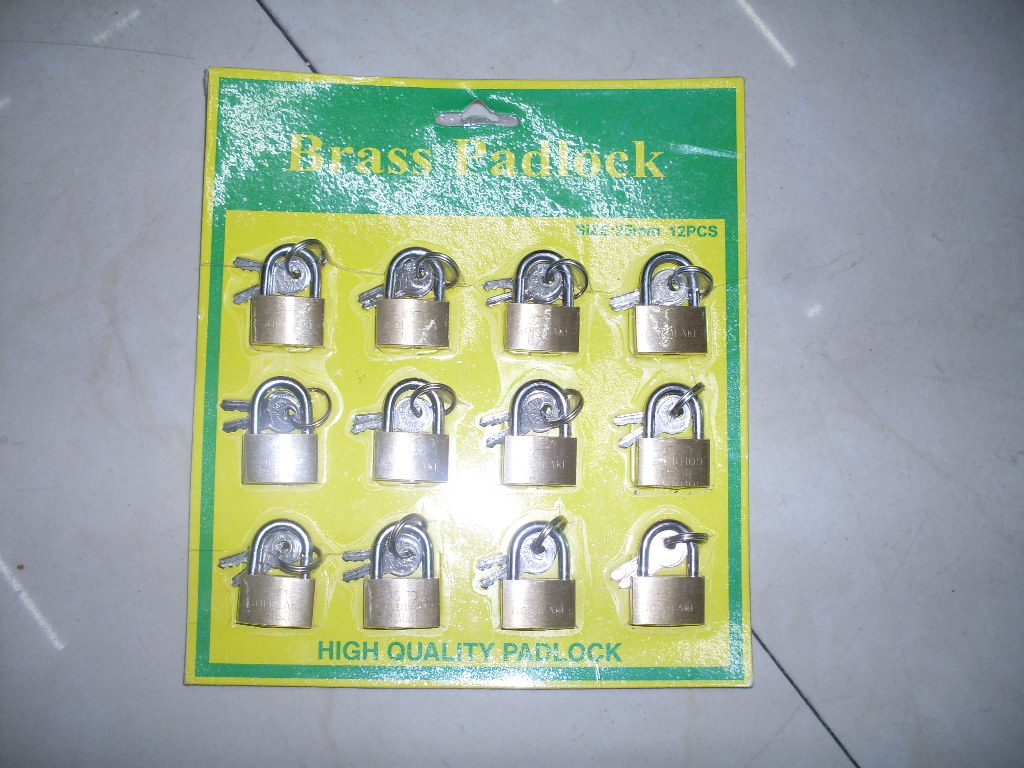 lock - 12 pc 25 mm