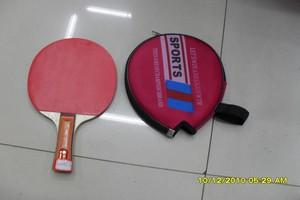 Ping-Pong racquet with cover