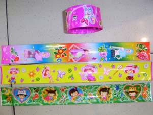 Flexible Ruler(inner metal material and outer photo stikers wrap