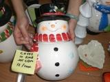 Retro Snowman Cookie Jar