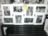 8 Picture Collage Frame - White