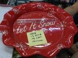 Let It Snow Tray