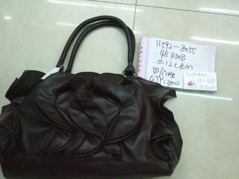 Large Ruffle Front Bag